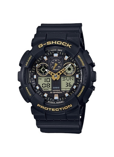 Casio Ga-100gbx-1a9dr G-Shock Erkek Kol Saati Siyah
